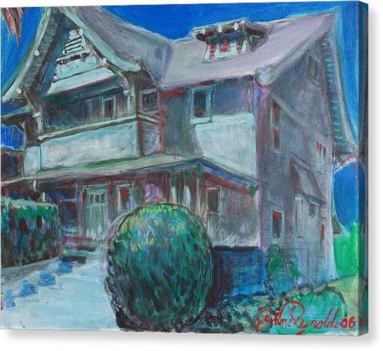 So Cal House Canvas Print