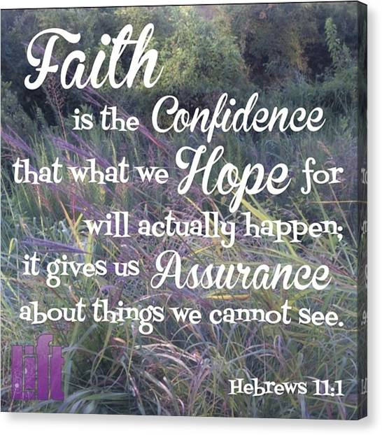 Design Canvas Print - So Do Not Throw Away This Confident by LIFT Women's Ministry designs --by Julie Hurttgam