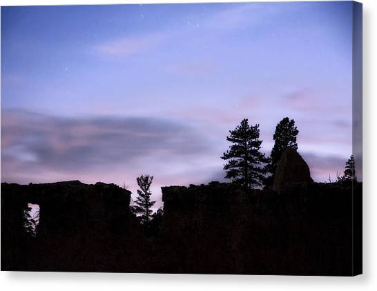 So It Began Canvas Print by Mike McMurray