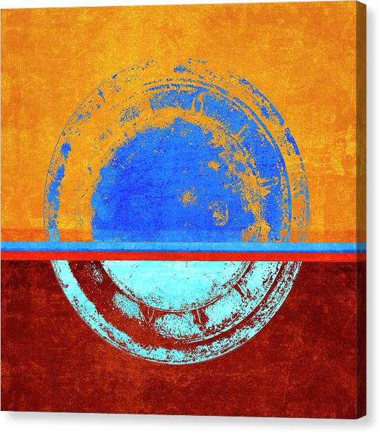 Simple Canvas Print - So Long Pete by Carol Leigh