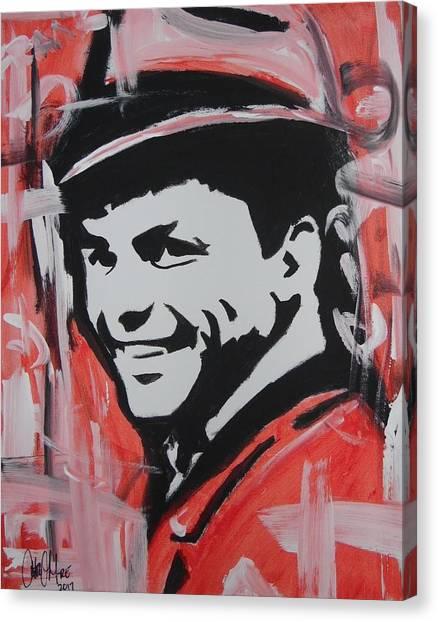 So Sinatra Canvas Print
