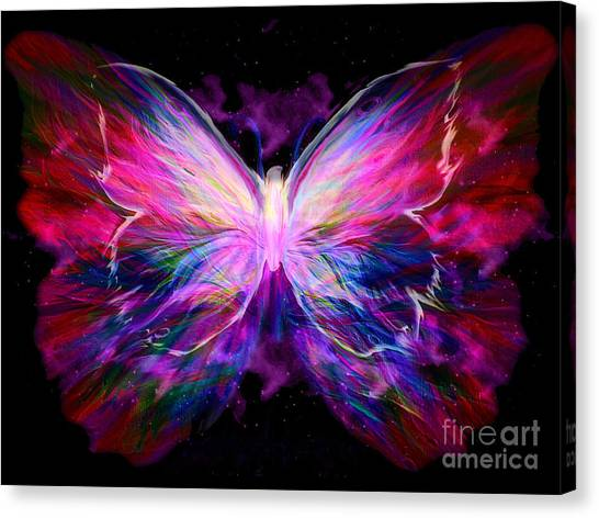 Soaring Love Canvas Print