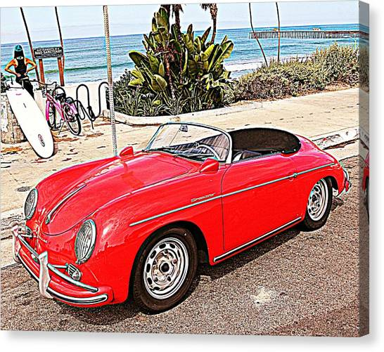 Socal Speedster Canvas Print
