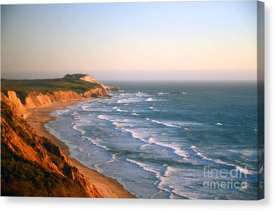 Socal Sunset Ocean Front Canvas Print