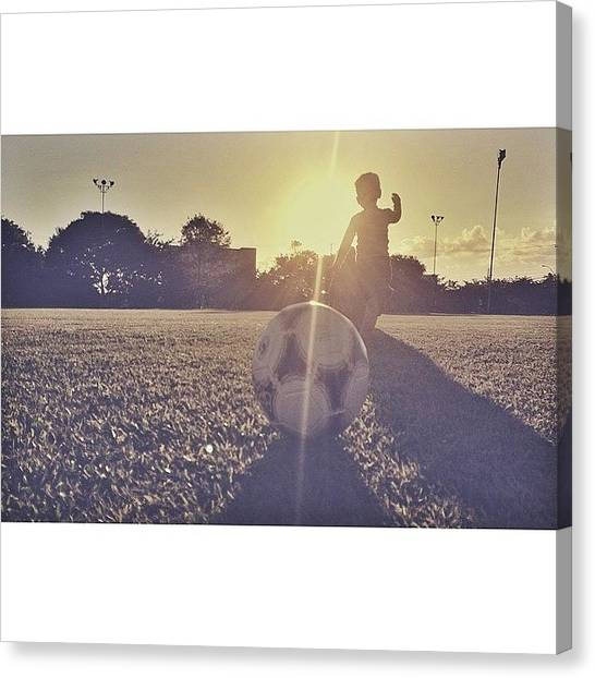 Soccer Teams Canvas Print - #soccer #ball #futbol #tagsforlikes by Denis Paul