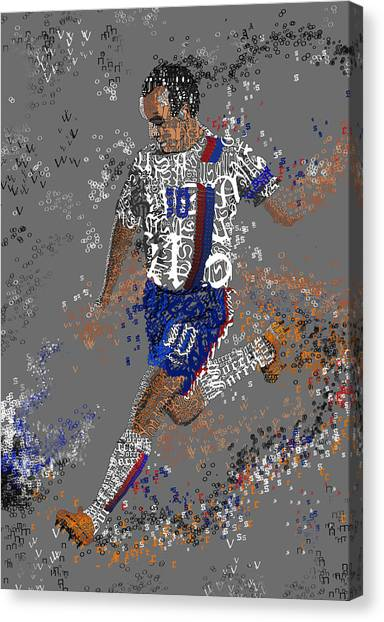 Landon Donovan Canvas Print - Soccer by Danielle Kasony