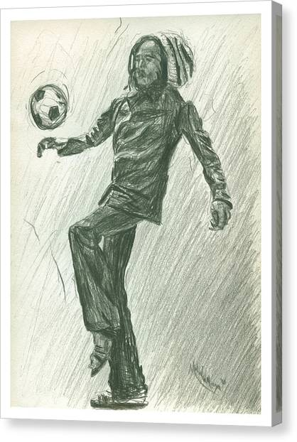 Soccer Time Canvas Print