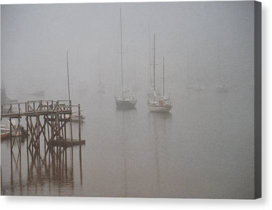 Socked In Canvas Print by Peter Williams
