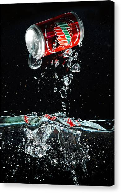Soda Canvas Print