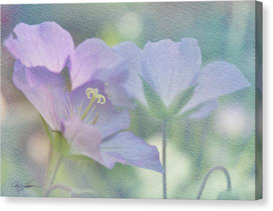 Soft Blue Canvas Print