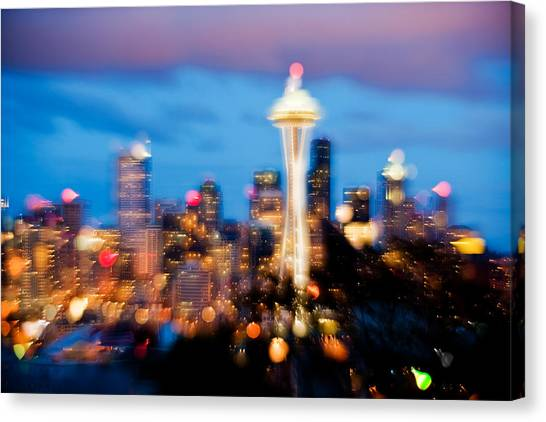 Soft Color Night  Canvas Print by Yoshiki Nakamura