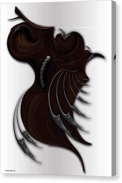 Soft Metamorphosis Canvas Print