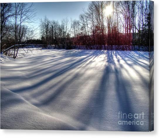 Soft Shadows Canvas Print
