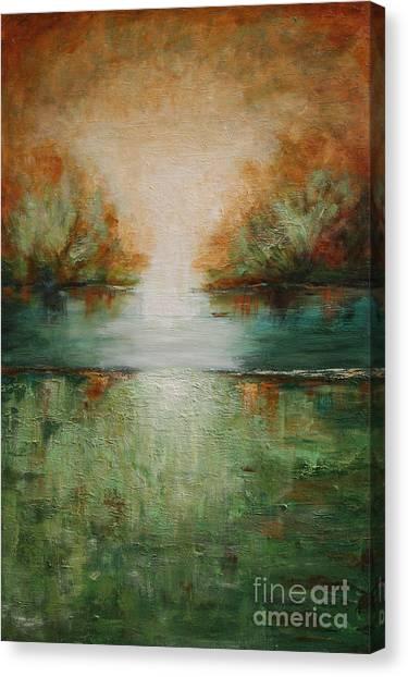 Soft Tumbleweed Canvas Print