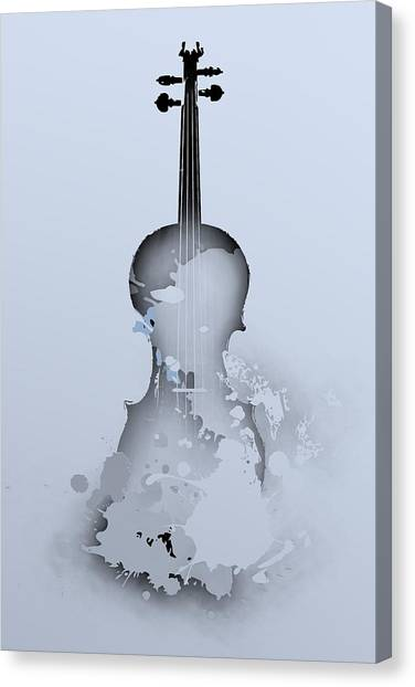 Soft Violin Canvas Print
