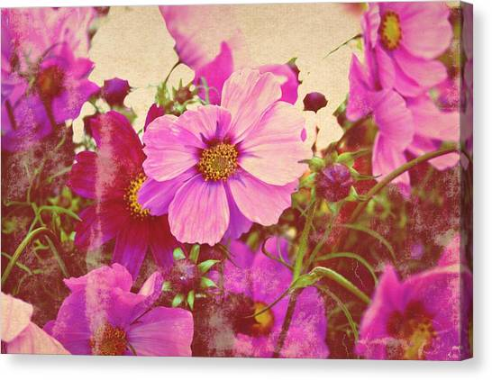 Softly Blowing Two Canvas Print by Cathie Tyler