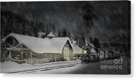 Solace From The Storm Canvas Print