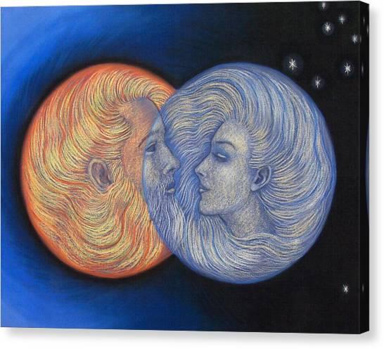 Solar Eclipse Canvas Print