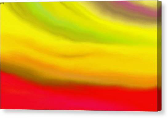 Solar Flare Canvas Print by Angie Armstrong