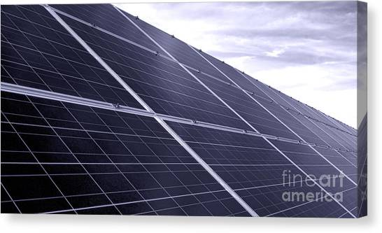 Installation Art Canvas Print - Solar Power by Olivier Le Queinec
