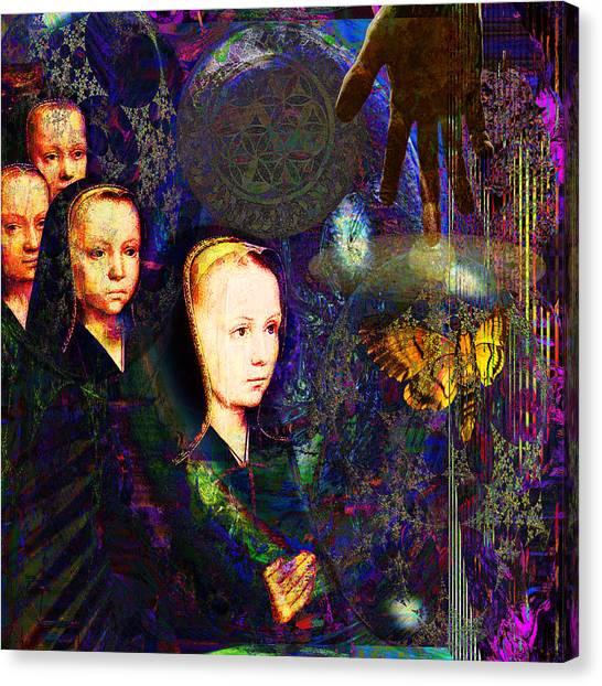sOLAR pRAYER Canvas Print