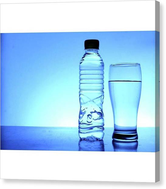 Drinks Canvas Print - Sold Again! This Time At by Jun Pinzon