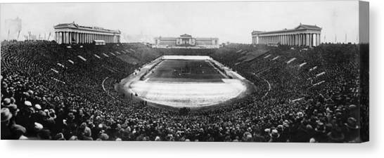 Soldier Field Canvas Print - Soldier Field, Chicago, Illinois, Circa by Everett