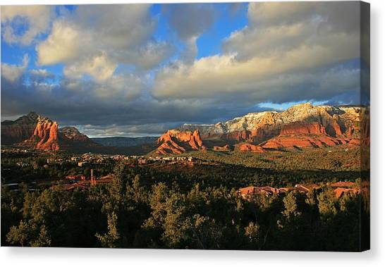 Soldier Pass Sunset Canvas Print by Gary Kaylor
