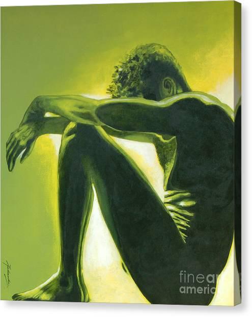 Soliloquy Canvas Print by Padmakar Kappagantula