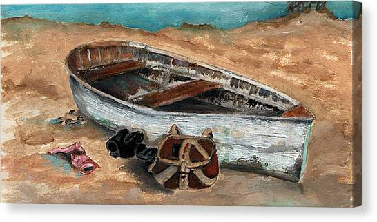 Solitary Canvas Print by Penny Everhart