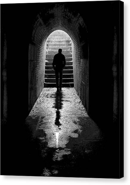 Solitude - Ascending To The Light Canvas Print