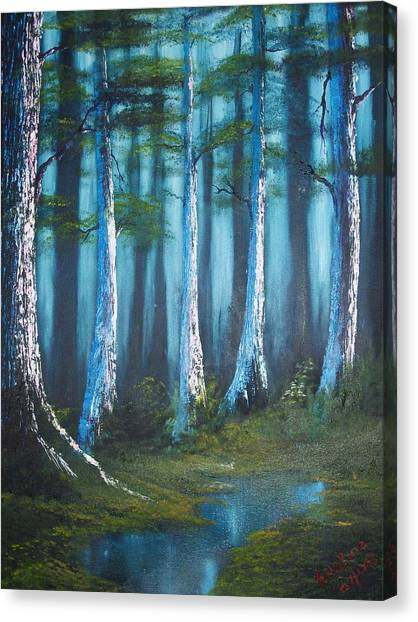 Solitude Canvas Print by Keith Erskine