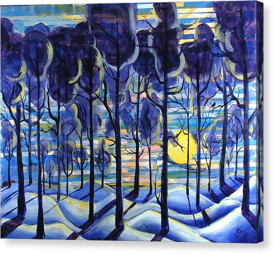 Solitude Canvas Print by Rollin Kocsis