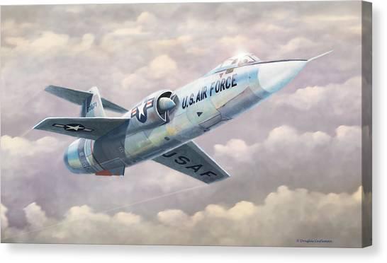 Solo Starfighter Canvas Print
