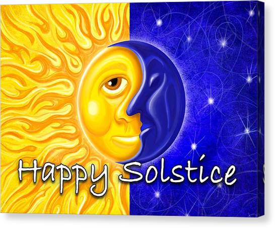 Atheism Canvas Print - Solstice by David Kyte