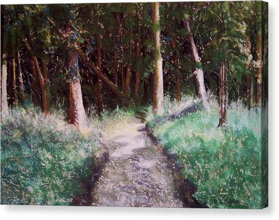 Solveigs Journey Canvas Print