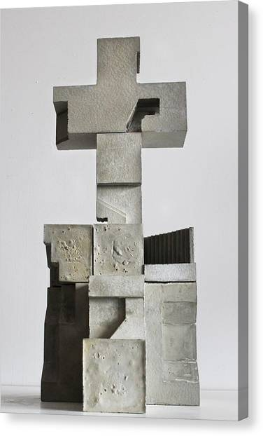 Soma Structure 1 Canvas Print by David Umemoto