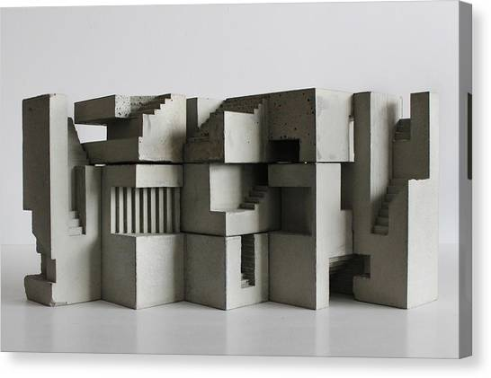 Soma Structure 7 Canvas Print by David Umemoto