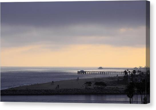 Some Cream After Sunset Canvas Print