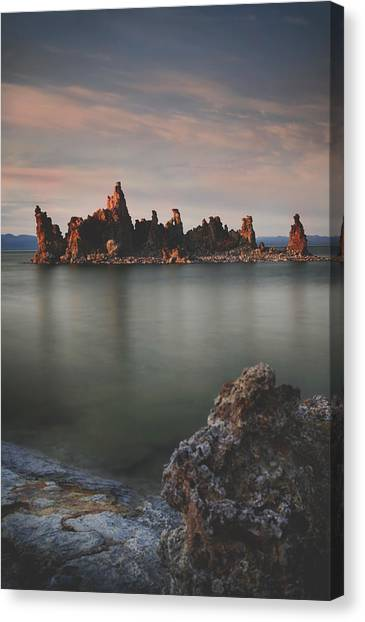 Mono Lake Canvas Print - Someday I'll Be Fine by Laurie Search
