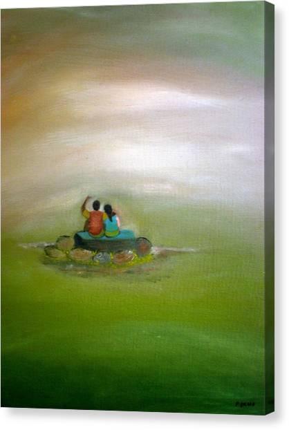 Someday Canvas Print by Philip Okoro