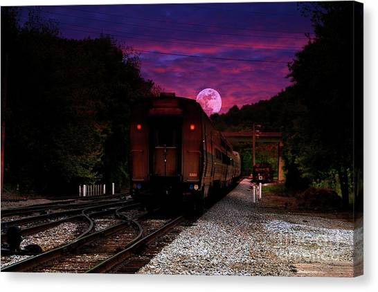 Someone Said Goodbye II Canvas Print
