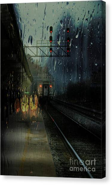 Someone Said Goodbye Canvas Print