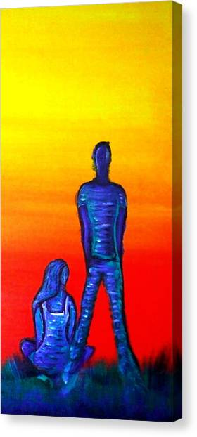 Someone To Watch Over Me Canvas Print by Brenda Higginson