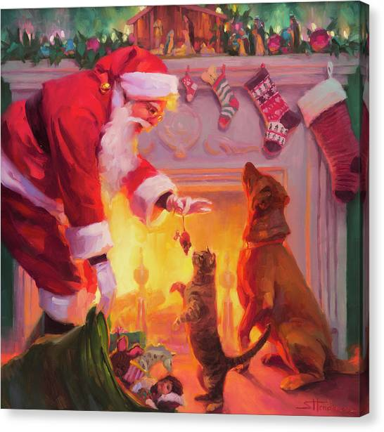 Presents Canvas Print - Something For Everyone by Steve Henderson