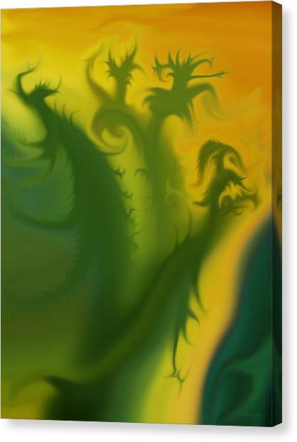 Something Green Canvas Print