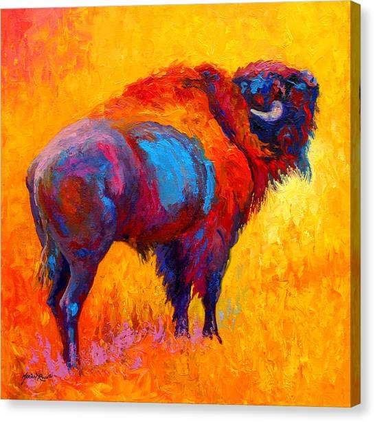 Prairie Canvas Print - Something In The Air by Marion Rose