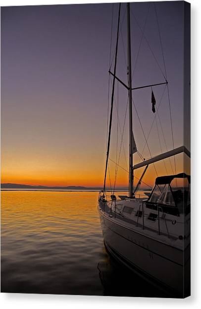 Somewhere Beyond The Sea ... Canvas Print