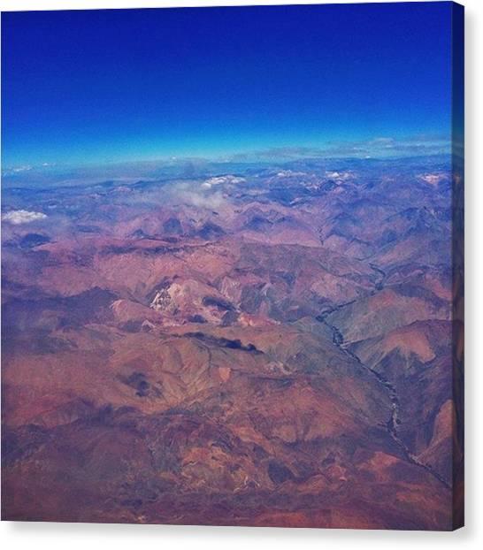 Atacama Desert Canvas Print - Somewhere High Over The Atacama Desert by Joshua Pruitt