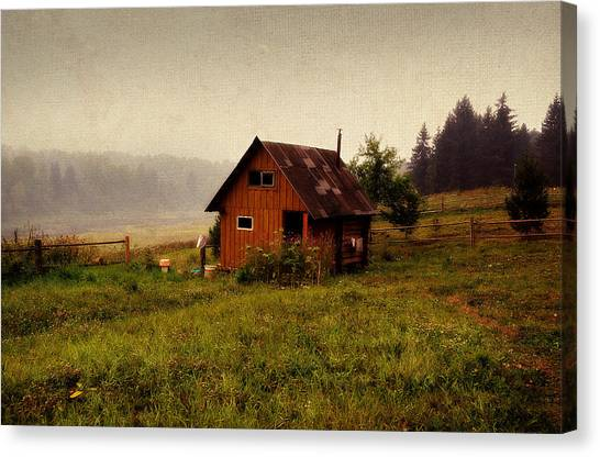 Somewhere In The Countryside. Russia Canvas Print